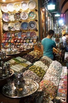 Grand Bazaar, Istanbul http://www.yourcruisesource.com/two_chefs_culinary_cruise_-_istanbul_to_athens_greek_isles_cruise.htm
