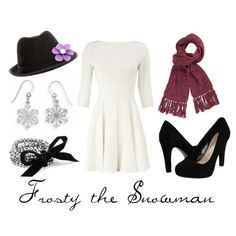 """""""Frosty the Snowman"""" by character-inspired-style on Polyvore"""