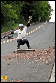 Longboarding. One of my favorite hobbies, although I'm not quite as good as they are.