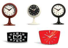 Retro Alarm & Mantel Clocks