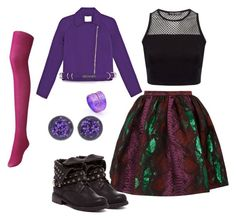 """""""Mal daughter of maleficent"""" by paytong-2 on Polyvore"""