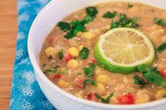 Creamy Corn and Quinoa Chowder