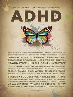 """Kathleen's poor grades hurt her self-esteem, so we decided to try ADHD medication. She was upset about the decision, so I printed out a list of famous inventors, musicians, artists, and athletes who were diagnosed with ADHD. She lit up."" See how one creative momma harnessed this insight into some beautiful reminders of ADHD's special powers (available to purchase and hang, we might add)."