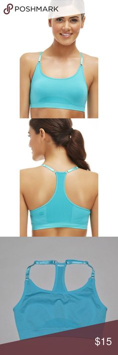 Fabletics Samana Seamless Sports Bra Blue Brand: Fabletics Item name: Samana Seamless Sports Bra Color: Blue Condition: New without tags. However, the size tags have been cut out.  Size: XS Fabletics Tops