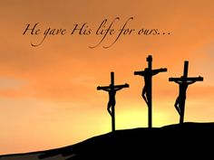"""""""For God so loved the world that He gave His only Son so that anyone who believes in Him shall not perish but have eternal life. Faith Hope Love, Faith In God, Jesus Loves Me, Christian Inspiration, Amazing Grace, Jesus Christ, Savior, God Is Good, Recycled Crafts"""