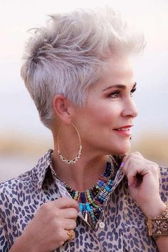 Tousled Platinum Pixie ❤️ Hairstyles for women over 50 do . Tousled Platinum Pixie ❤️ Hairstyles for women over 50 do . Tousled Platinum Pixie ❤️ Hairstyles for women over 50 do . Latest Hairstyles, Short Hairstyles For Women, Celebrity Hairstyles, Cool Hairstyles, Hairstyles Haircuts, Casual Hairstyles, Modern Hairstyles, Medium Hairstyles, Weave Hairstyles