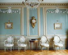 Lovely Scandinavian Rococo interior at Gunnebo Castle and Gardens. Precious memories from my time there working with heritage and tourism.