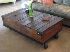 Factory+Cart+Coffee+Table+by+JHOOPERDESIGNS+on+Etsy,+$350.00