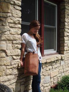 Como hacer un bolso de cuero para picnic