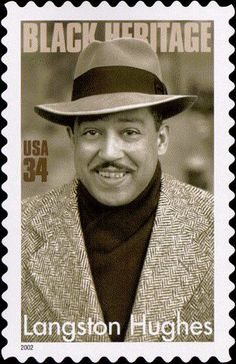 """Prolific writer and poet Langston Hughes rose to prominence during the Harlem Renaissance. """"Hold fast to your dreams, for without them life is a broken winged bird that cannot fly."""""""