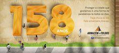 Armazém dos Toldos Campanha: Aniversário de Aracaju Mídia: Facebook
