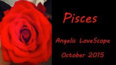 Pisces October 2015 Angelic LoveScope Reading