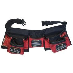 MagnoGrip 24 in. 12-Pocket Magnetic Carpenter's Tool Apron-203-017 - The Home Depot $32.35
