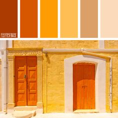 Color Palette: Burnt Orange, Tangerine and Sand. If you like our color inspiration, sign up for our monthly trend letter - http://patternpod.us4.list-manage.com/subscribe?u=524b0f0b9b67105d05d0db16a&id=f8d394f1bb