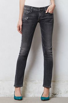 Citizens of Humanity Racer Skinny Jeans #anthropologie