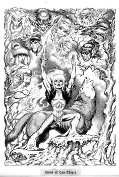 I wish I could remember the issue number, but ElfQuest was the first comic book I ever bought.