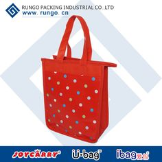 Product: Cooler bag Item No.: ICE-1303  Size:22x27x11cm Material:110gsm lamination pocket               80gsm non woven                EPE 2mm inside