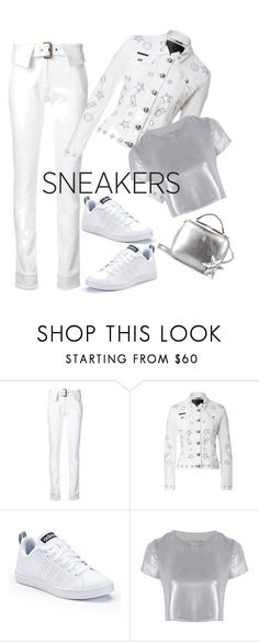 """""""Peace"""" by kikikoji ❤ liked on Polyvore featuring Monse, adidas, Related and Mark Cross"""