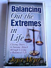Balancing Out the Extremes: By Joyce Meyer, Christian Teaching, 6 Cassette