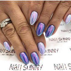 Новости ongles chrome nail powder, purple chrome nails et po Holiday Nails, Christmas Nails, Fancy Nails, Pretty Nails, Purple Chrome Nails, Gel Chrome Nails, Acrylic Nails Natural, Nail Art Designs, Ten Nails