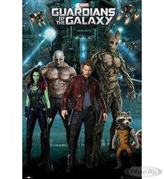 Guardians of the Galaxy Poster hier bei www.closeup.de