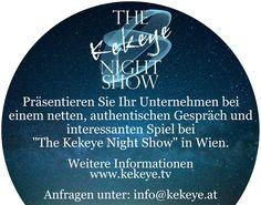 The Kekeye Night Show aus Wien, mit Robert Kekeye Night Show, Business, Games