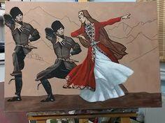 Turkish Art, Foil Art, Cat Wallpaper, My Land, People Of The World, Wall Art Sets, Occult, Canvas Wall Art, Fantasy Art