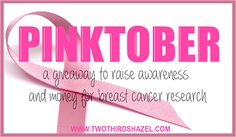 PINKTOBER Giveaway for Breast Cancer Awareness: $300 to Victoria's Secret, $60 of Essie polish, make up, ad space and MUCH MORE!