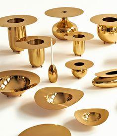 alex meitlis' brassware collection for hazorfim at LDF 2013