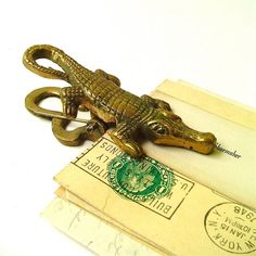 alligator paperclip!