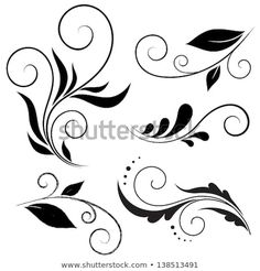 Find Calligraphic Design Elements stock images in HD and millions of other royalty-free stock photos, illustrations and vectors in the Shutterstock collection. Thousands of new, high-quality pictures added every day. Stencil Patterns, Stencil Designs, Mehndi Designs, Nail Art Modele, Graffiti Tattoo, Scroll Design, Border Design, Swirl Design, Swirls