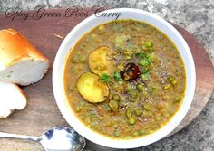Spicy Green Peas Curry Recipe