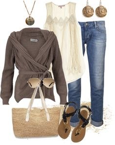 """Not to whine too much, but is it summer yet?"" by anniepro on Polyvore"