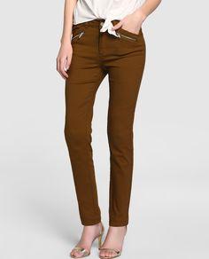 Resultado de imagen para pantalon color camel mujer
