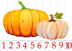 Пазлы Autumn Activities For Kids, Book Activities, Toddler Activities, Games For Kids, Number Puzzles, Fallen Book, Fall Fruits, Fete Halloween, Baby Crafts