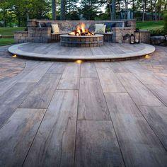 Outdoor Patio Pavers, Large Backyard Landscaping, Patio Tiles, Backyard Patio Designs, Outdoor Flooring, Concrete Patio, Pergola Patio, Patio Stone, Patio Privacy