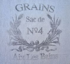 Grain sack inspired Window or Shower by PenniesPrimitives on Etsy