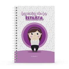 Cuaderno XL - Las notas de la estilista, encuentra este producto en nuestra tienda online y personalízalo con un nombre. Notebook, Personal Stylist, Notebooks, Report Cards, Store, Style, The Notebook, Exercise Book