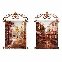 Rue de Paris Painted Canvases Review Buy Now