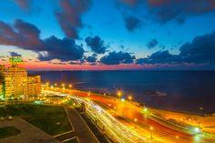 Corniche at Sidi Gaber