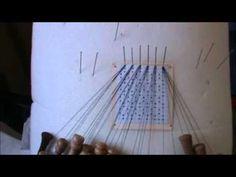 Bolillos como hacer la orilla con par pasivo - YouTube