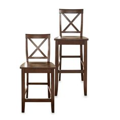 product image for Crosley X-Back Barstool (Set of 2)