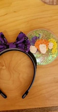 Scary Halloween, Halloween Party, Halloween Costumes, Disney Diy, Disney Trips, Hocus Pocus Disney, Disney Mouse Ears, Disney Queens, Sanderson Sisters