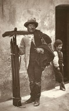 Chimney sweep...London