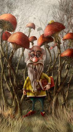 Aalbert Van Edeborg from Mushroom mountain by Alexander Skachkov