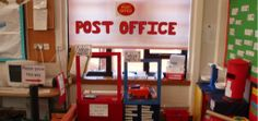 Post Office role play packs. Printable. Free.