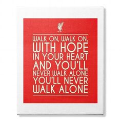 LIVERPOOL FC CANVAS FATHERS DAY 2017 #Father'sDay