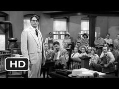 To Kill a Mockingbird ~ One of the few movies that is as superb as the book. Gregory Peck was the perfect Atticus Finch.