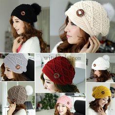 毛系帽子 ハット ニット帽子 女性向け レジャー 暖かい小物 レディースハット 選べる8色