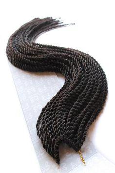 Bobbi Boss Senegal Twist Braid 4 - Brown, Crochet Braiding Hair - Bobbi Boss, Tisun - 11